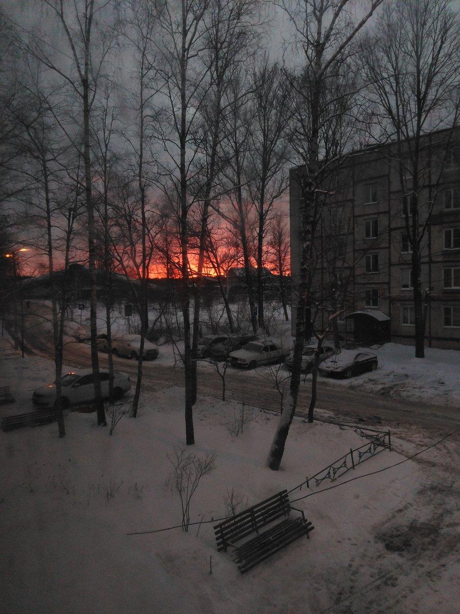 #небо #закат #sky #sunset