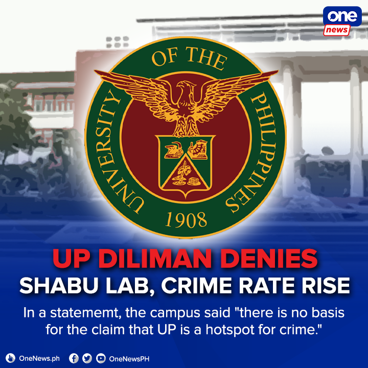 UP Diliman Police (UPDP) records show most of the crimes inside the campus were crimes against property including plant and bicycle theft. FULL STATEMENT: bit.ly/3iNfaXp RELATED VIDEO: bit.ly/2YaHLfG