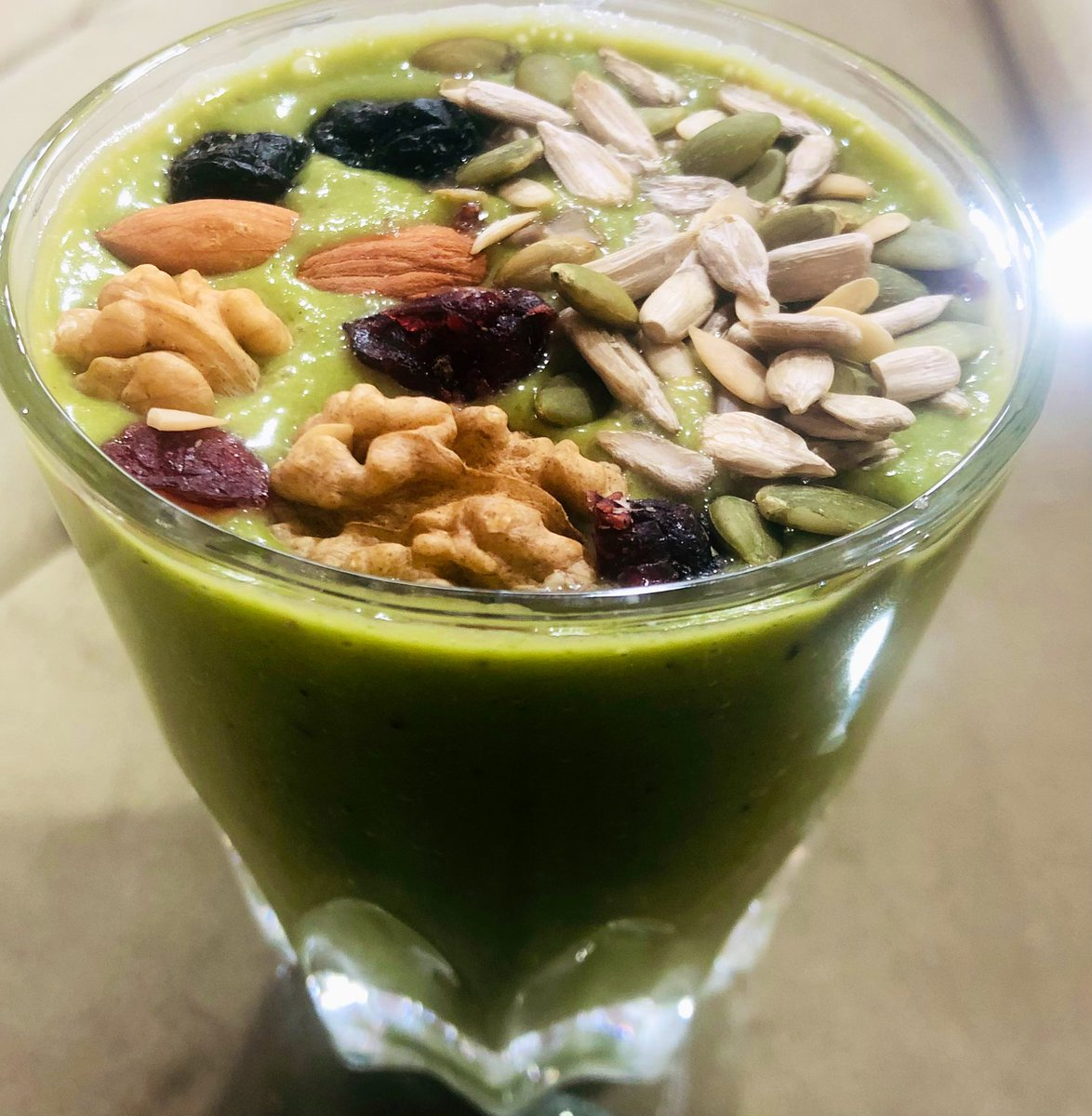 Guess the biodiverse ingredients in these breakfast smoothies. Leaves, roots, stems, fruits and seeds of different plants are able to cater to the needs of a balanced diet.  #biodiversity #breakfast