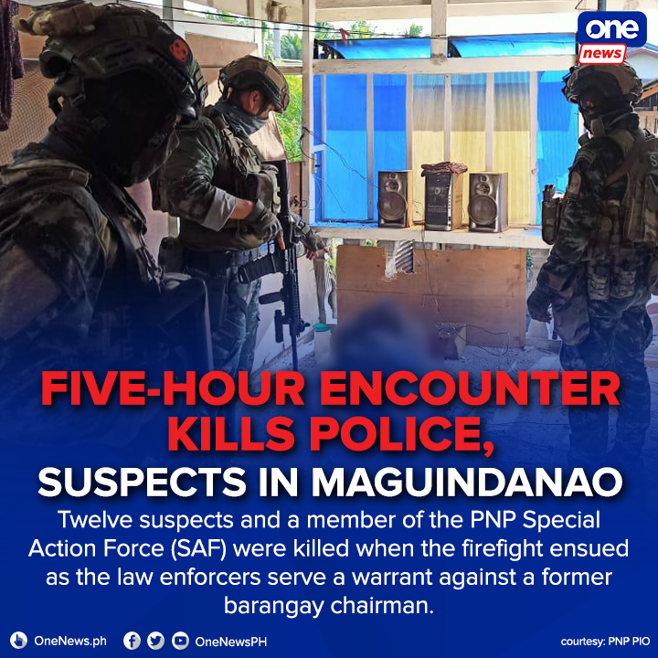 Four other SAF troopers were wounded in the encounter.