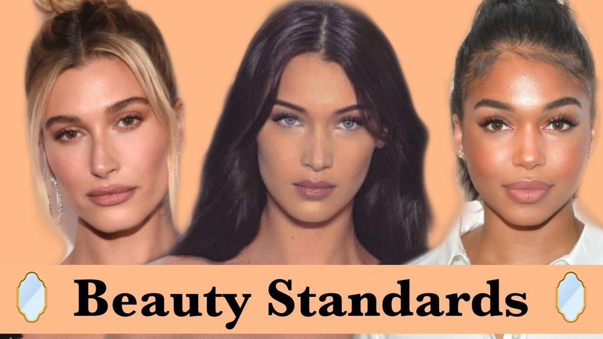 New video on Beauty Standards! Link below and in bio!   . . . . #beautystandards #prettyprivilege #bellahadid #loriharvey #haileybieber #gigihadid #KylieJenner #kendalljenner #beyonce #zendaya #AlexandraDaddario #arianagrande #rihanna #naomicampbell