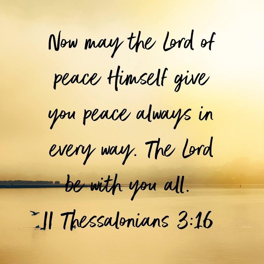 #SaturdayMotivation #SaturdayThoughts #Bible #peace