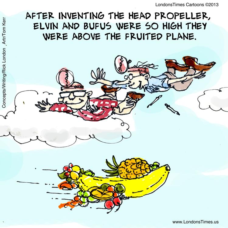 Above The Fruited Plane by @LTCartoons by @RickLondon @GiftsLT #LTCartoons #funny #humor #cartoons #comics #hilarious #silly #LOL #offbeat #offbeatcartoons #webcomics