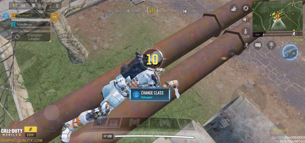 When you decide to go duos into squads, but @PlayCODMobile hasn't given you a prosthetic 🦿😭😭😭 We still took the dub 😏🥇 @Dabbingbeariez #CoD #actinglikethat #CallofDuty #CoDMobile #lol #game #gamer #GamerGram #PoLilTinkTink 🦿🦿🥺🥺🥺