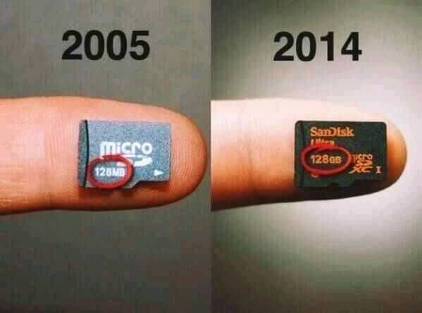 Now we have more than a TB in #2021  #abhitalktech #technology #ig_tech #evolution #innovation #storage #sandisk #memory #sdcard