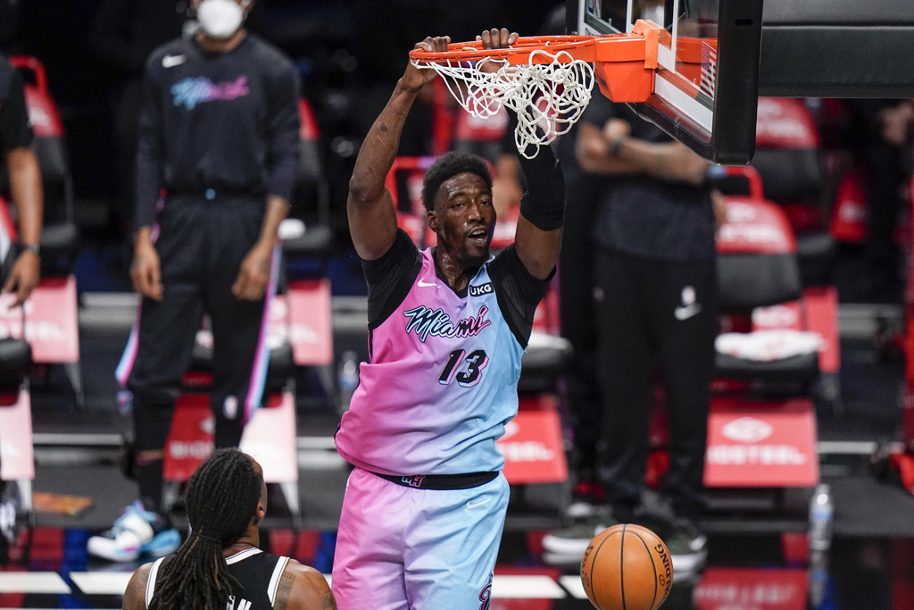 Bam Adebayo is the 2nd player in Heat history with 40 points in a game at age 23 or younger, joining Dwyane Wade.