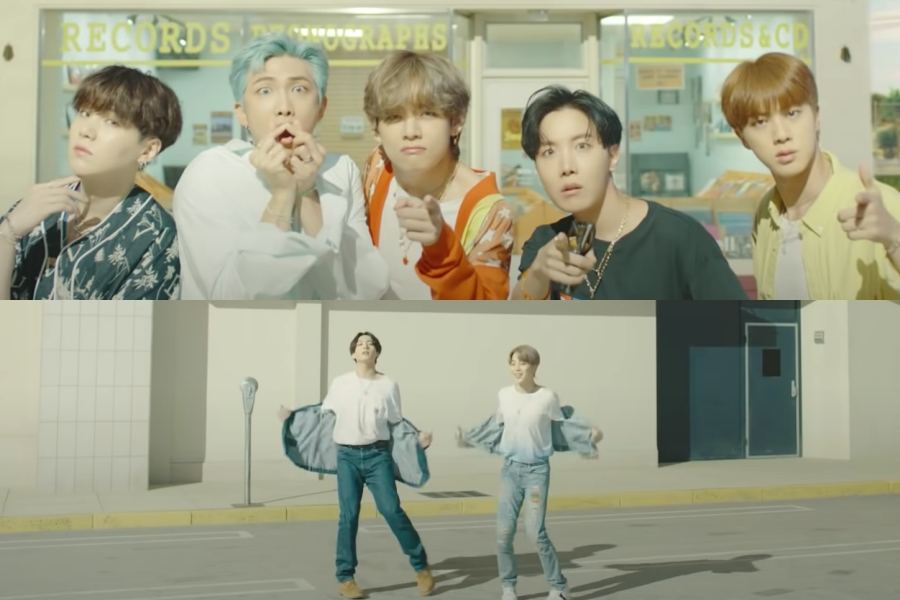 "#BTS's ""Dynamite"" MV Sets New Record As It Reaches 800 Million Views"