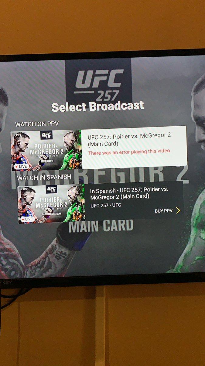 Fav or retweet if you are seeing #UFC257 #UFCFightIsland #UFC257livestream