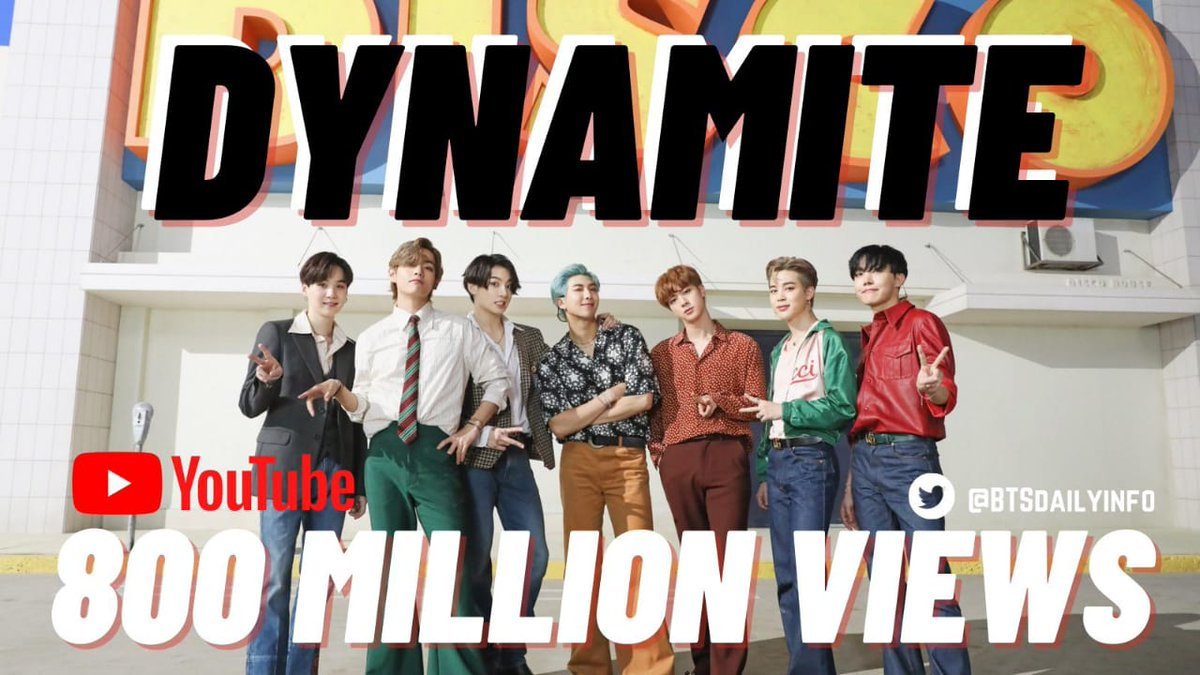 #Dynamite800M @BTS_twt #GRAMMYs #BTSDynamite