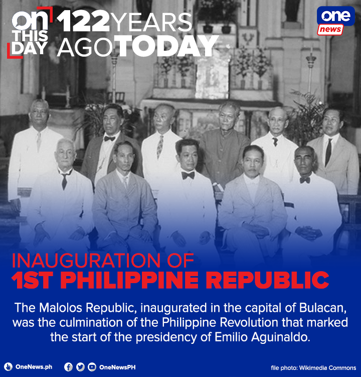The first Philippine Republic led to the creation of the first constitution and republican government in Asia. 🇵🇭