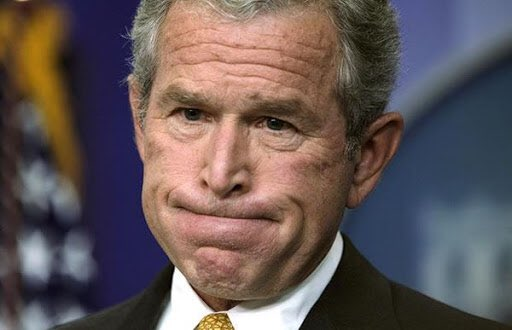 Phony George W. Bush issues statement on Rush Limbaugh, calls him brash, at times controversial