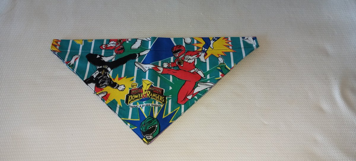 Excited to share the latest addition to my #etsy shop: Dog Bandana, Reversible, Blue Jays, Power Rangers, Over the Collar Bandana, Gift for Pets, Cute Pet Accessories, Puppy  #blue #valentinesday #red #anniversary #dogbandana #petbandana #dogcoll