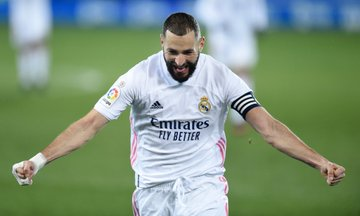 😘Pussy Mega Cuci Besar Malam Ni!! Real Madrid get back on track by equalling their biggest win of the season with a 4-1 victory at Alavés.  #UCL  #SNOW333