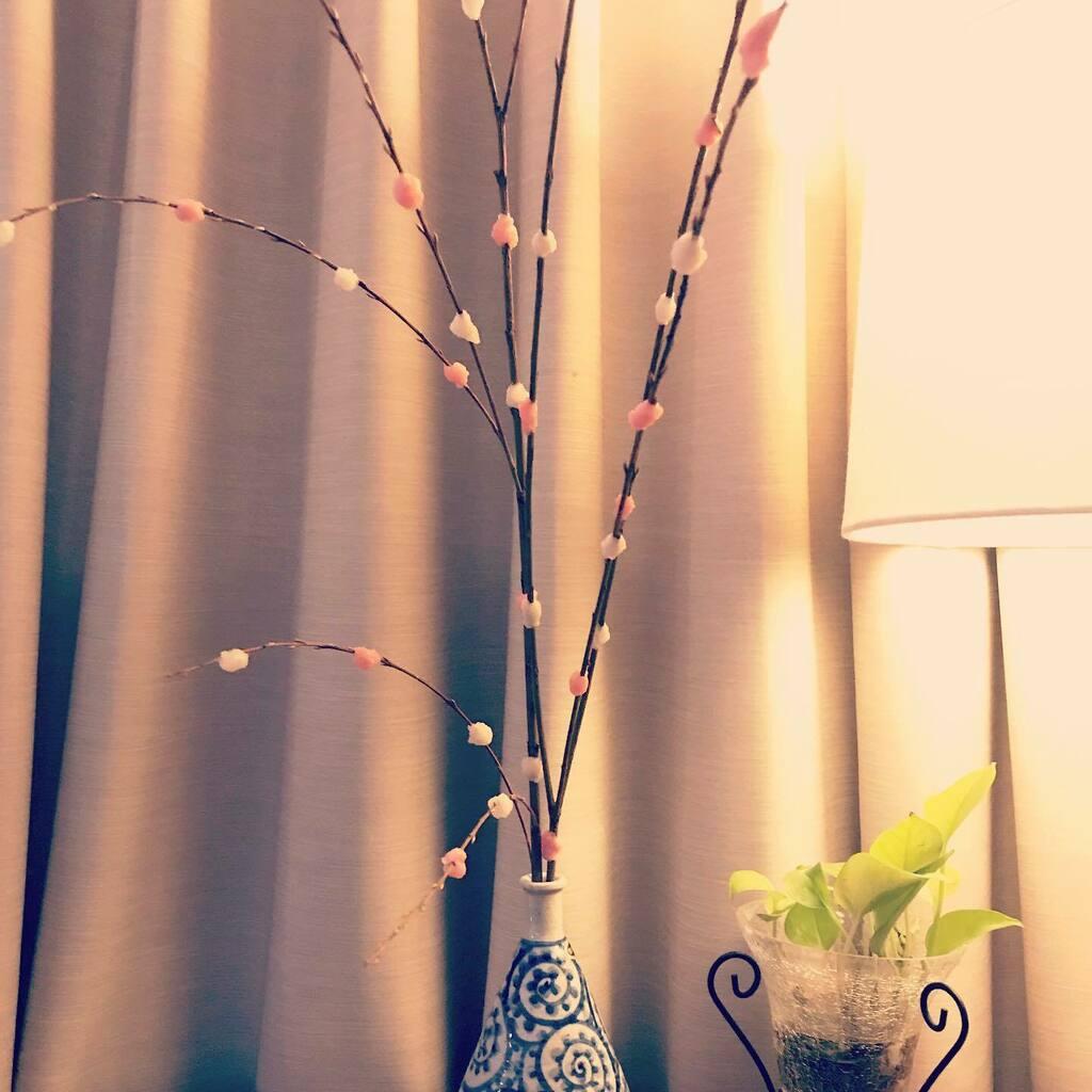 New Years Greeting  #今年もよろしくお願いします 🗻#newyearsgreeting #pink #white #brown #green #gold #睦月 #1月 #january #花正月 #餅花 #何の花
