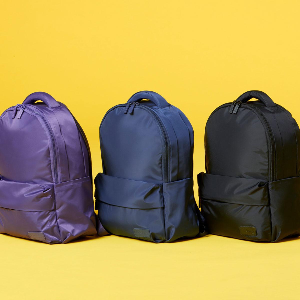 Nunca es suficiente para una #Lipault más... 🎒😏  #shopping #backpack #purple #laptop #color #accesorios #casual #picoftheday #blue #style