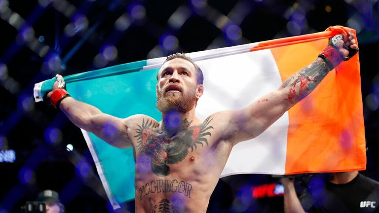 """It's fight day & YOU can win big on tonight's main event thanks to our friends @DKSportsbook !!  New users use our promo code """"THPN"""" they can turn $1 into $257 if """"The Notorious"""" Conor McGregor gets a 1st Round KO at #UFC257 #THPN #UFCFightIsland"""