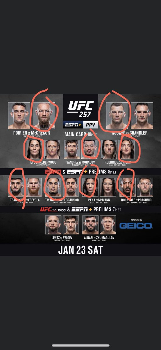 Why is it taking so long to get to 8!! #UFC257