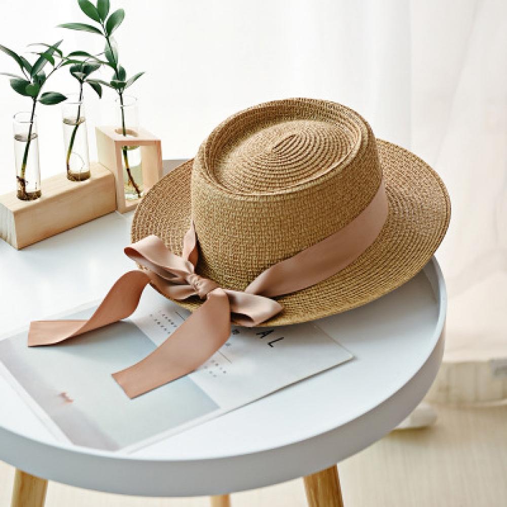 Women's Boho Straw Hat with Wide Ribbon #makeup #bestoftheday