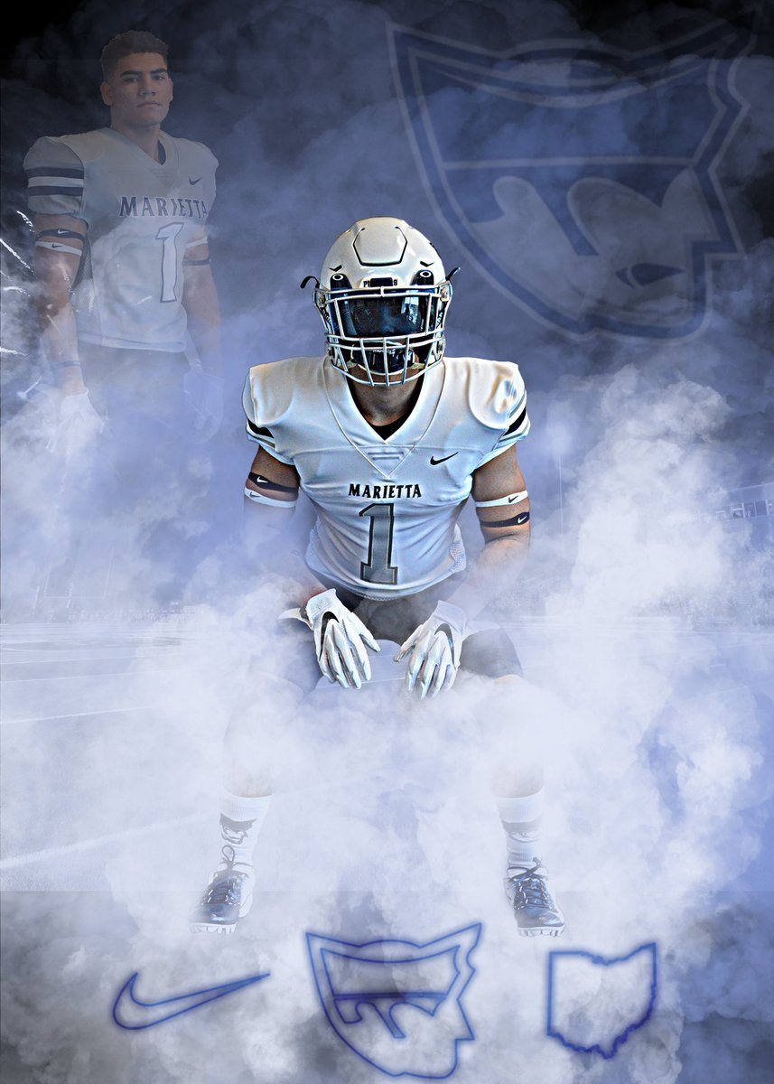 Just had a great second visit with @CoachWaddle @coach_poggiali and I am blessed and honored to receive a roster spot from Marrieta college to continue my athletic and academic career. #Blue #pioneer