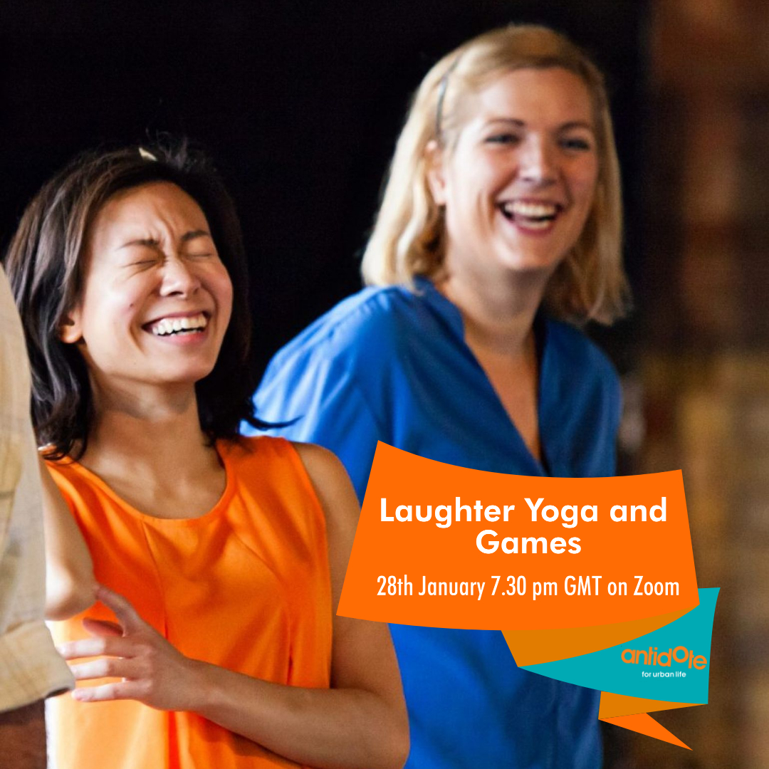 On 28th January we're holding online #LaughterYoga and Games workshop designed to tickle your funny bone good and proper. Expect a wholesome evening full of positivity and laughter. 🙌 #laughteristhebestmedicine   Tickets only £5 👇