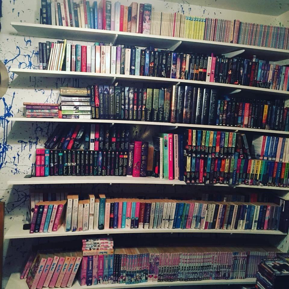 #IOwnARidiculousAmountOf Books, so many books I have my own library. I will just need to get rid if my bed.