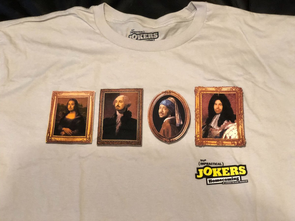 #IOwnARidiculousAmountOf Impractical Jokers merch — call me hopelessly obsessed... 😆