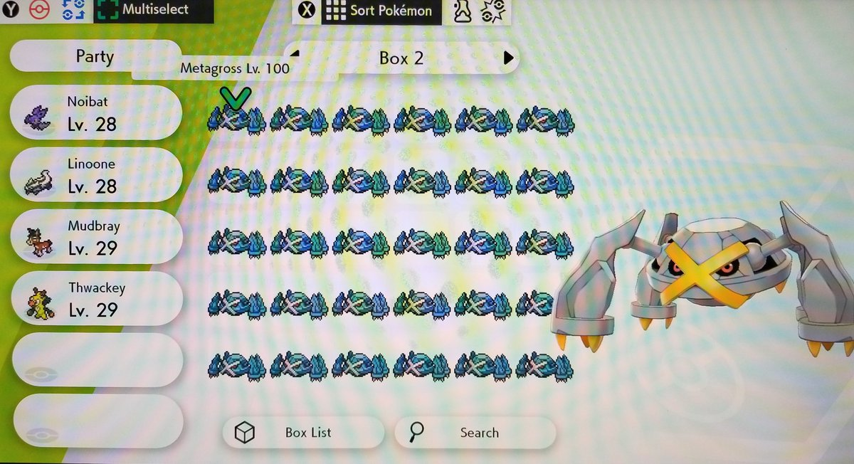 Giving away 120 Shiny Metagross through Surprise Trade on my stream tonight at 10PM CST 🤯  👉   Type !giveaway in chat for rules 😎  #Pokemon #PokemonSwordShield #PokemonSwordandShield #SurpriseTrade #Giveaway #giveaways #twitchaffiliate #twitchtv #twitch