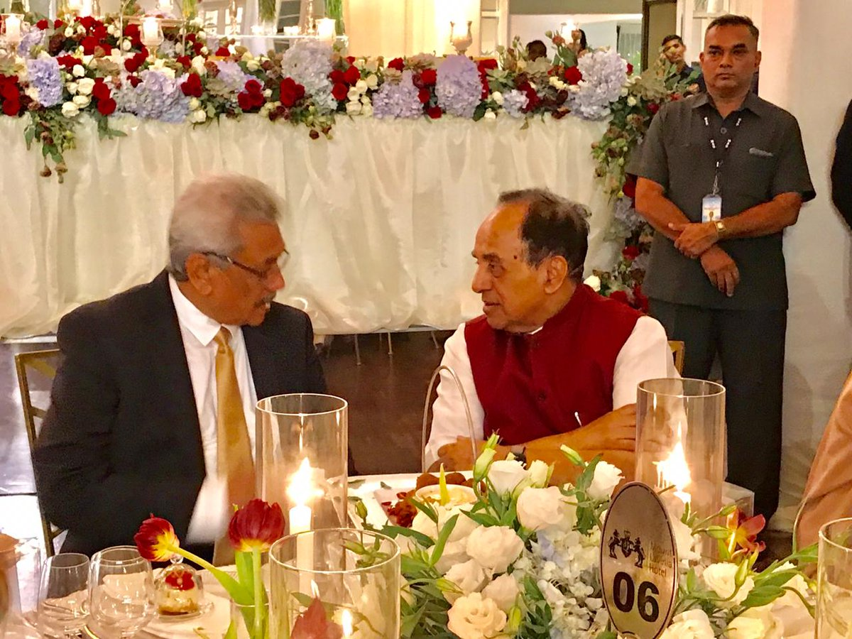 Dr. @Swamy39 jee :  Sri Lanka to receive COVID-19 vaccines from India next week: President Gotabaya Rajapaksa.  Front-line health workers, the Army and the police and the most vulnerable elderly will be given the vaccine as a priority, SL President said.