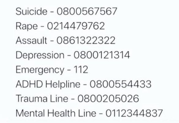 Replying to @LSupdated: For anyone who needs it. Please retweet. Spread this for people who might need it.