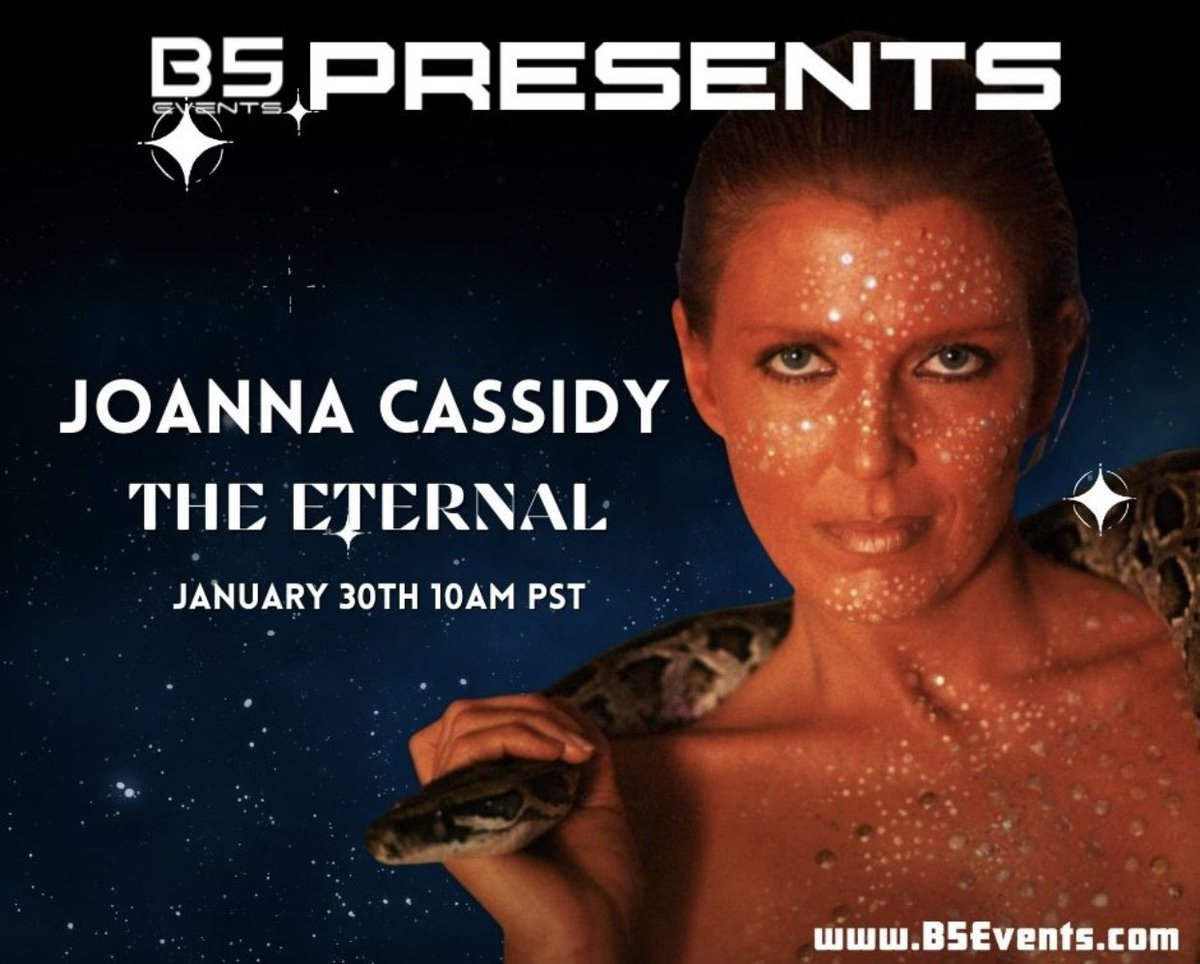 General Admission only $29.99. til Jan 23rd. Go to B5Events dot com to grab your discounted ticket & for all the details. Please help us to reach more folks so we can keep doing these events by liking and sharing our posts with your friends and groups!  #B5Events #B5E #Fandom https://t.co/VkxPsWmluL