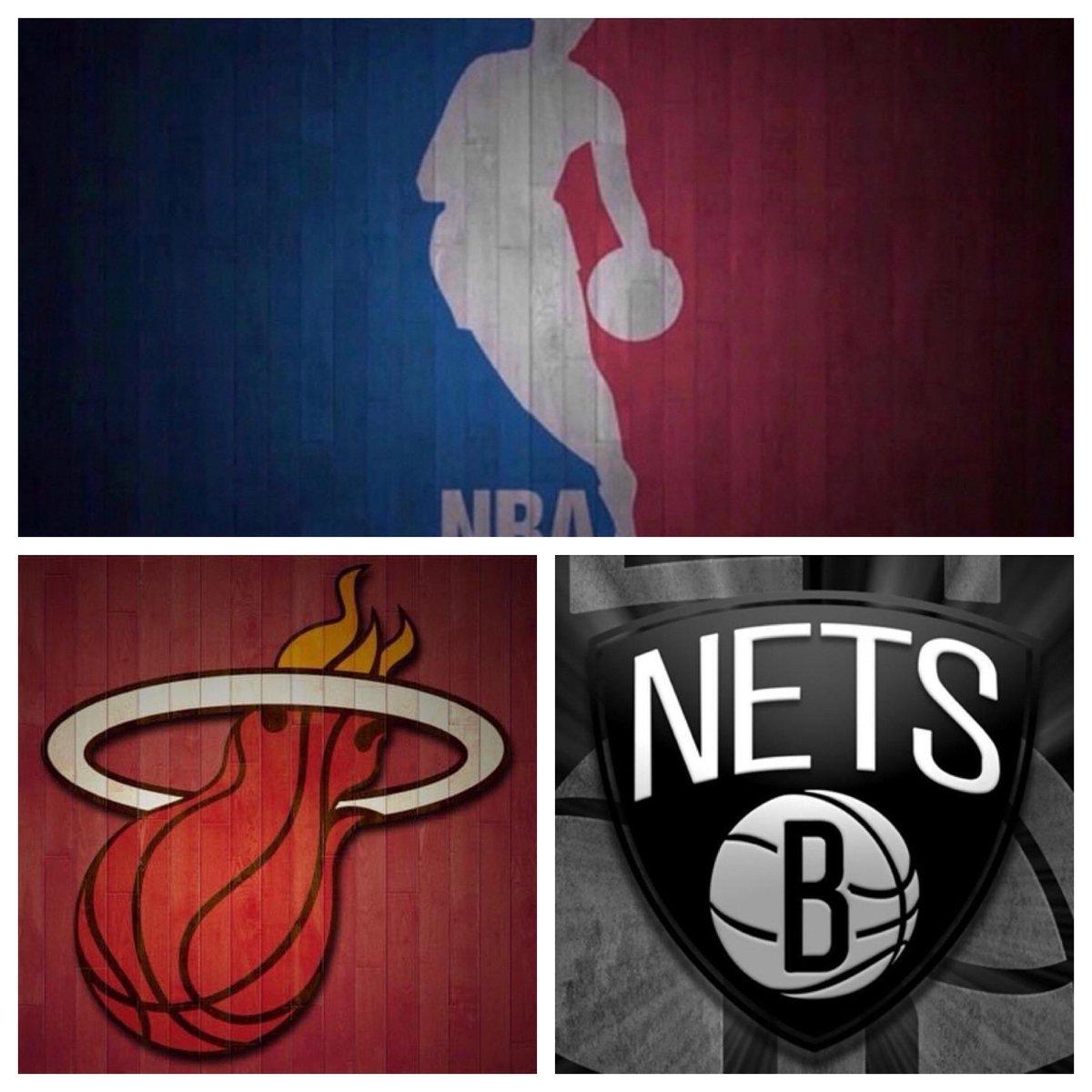 #IESRSN #Heat @ #Nets is underway! #NBA #MIAvsBKN #HeatTwitter #BrooklynTogether