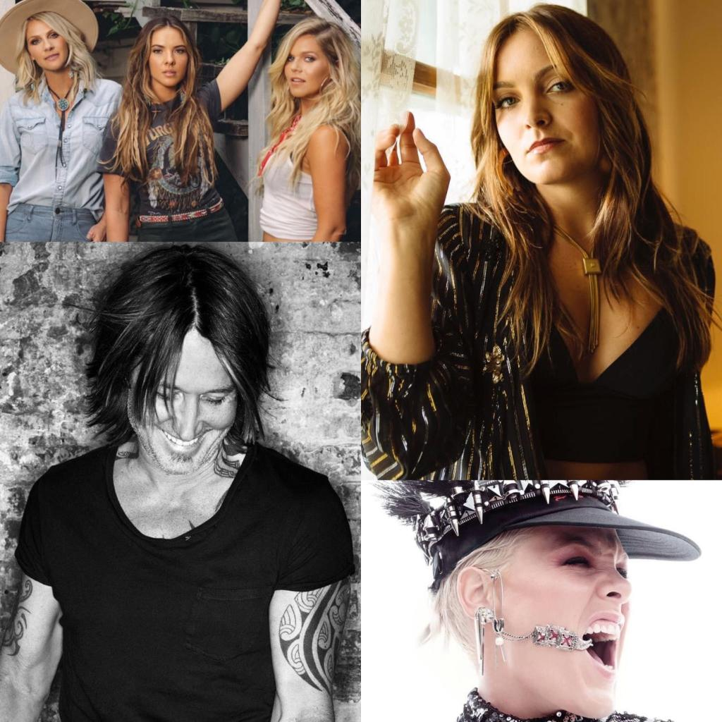 Here we go! This week's #CMTMusic 12-Pack results are in 💥  @runawayjune – We Were Rich @brittaylormusic – Broken Heart Breaks @KeithUrban and @Pink – One Too Many  Vote for next week HERE ⬇️