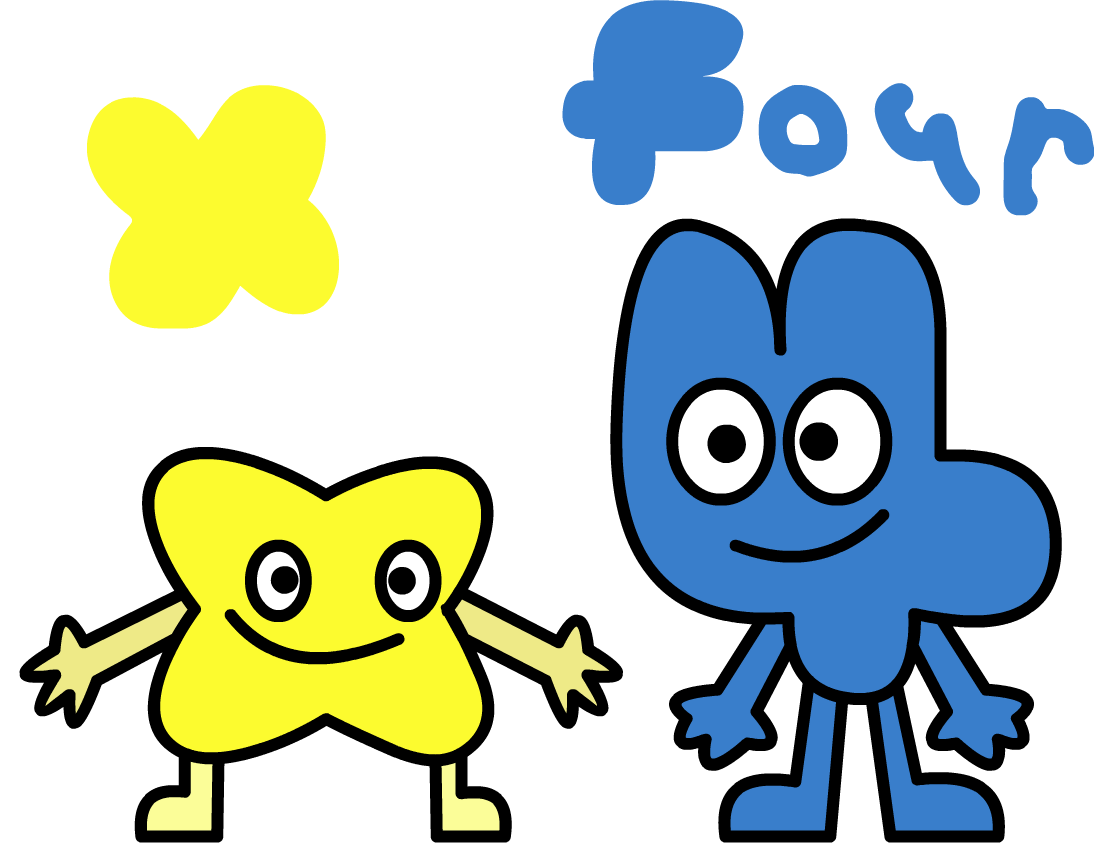 drew Four and X from #BFB
