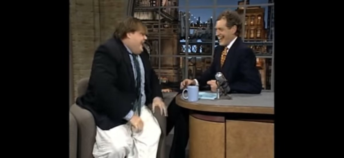 What the world needs more of... #ChrisFarley #iamchrisfarley #DavidLetterman #comedy #laughter