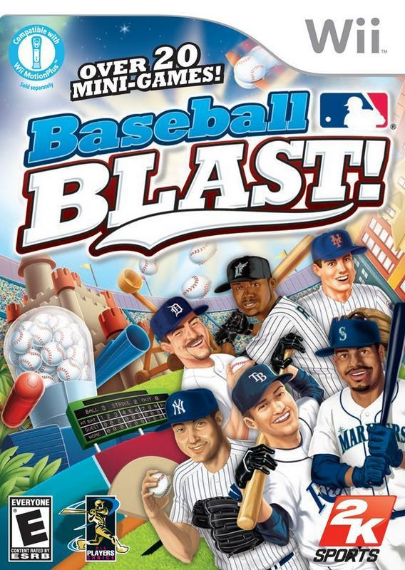 Play through awesome baseball challenges and win them all in Baseball Blast! #nintendo #wii #videogames #gaming #baseball