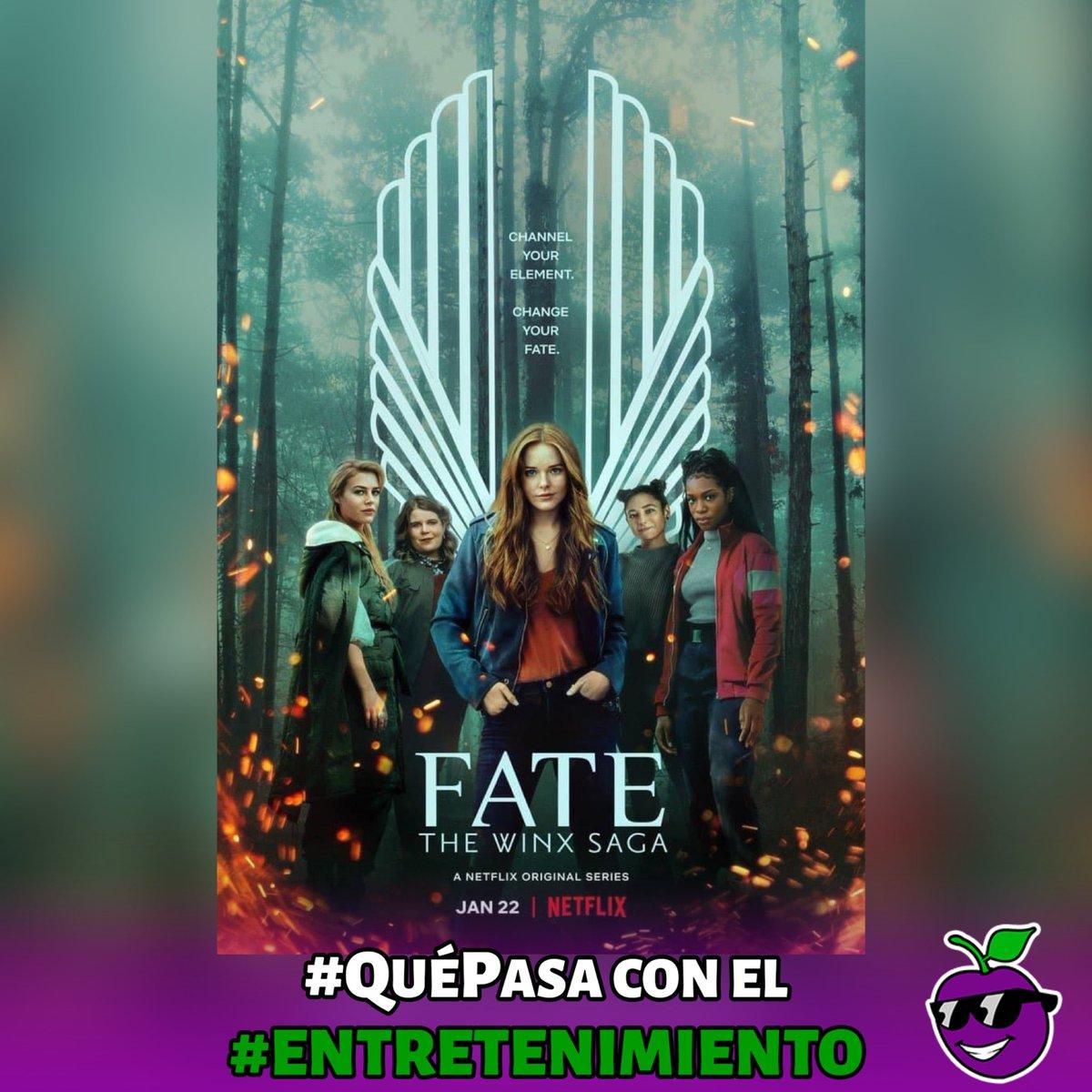 . #QuéPasa con el #Entretenimiento 🍿  'Fate: The winx saga', serie basada en la caricatura del mismo nombre, ya está disponible en la plataforma de streaming #Netflix con seis capítulos.