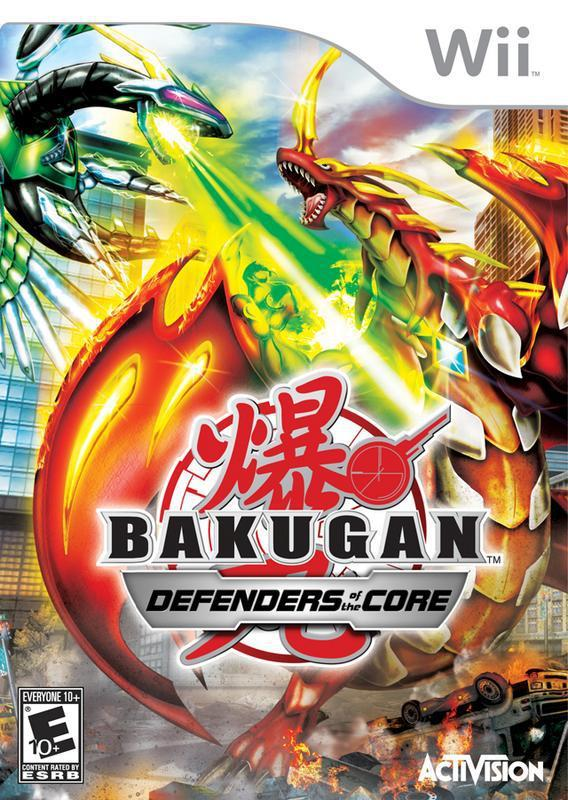 Go through intense battles, customize your character, and more in Bakugan Defenders of the Core #nintendo #wii #videogames #gaming #gamers