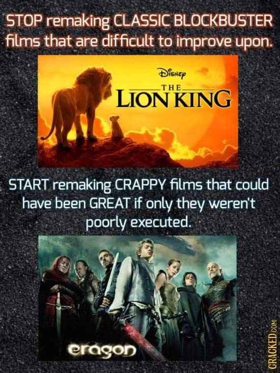 Who agrees with this?! Bc I feel this so much #FilmTwitter #movie #movietwit #AskTwitter #Disney #DisneyPlus #HBOMax #Netflix #PodcastRecommendations #podcasters #podcastersofinstagram #Applepodcasts #spotifypodcasts #TheLionKing #MovieReviews