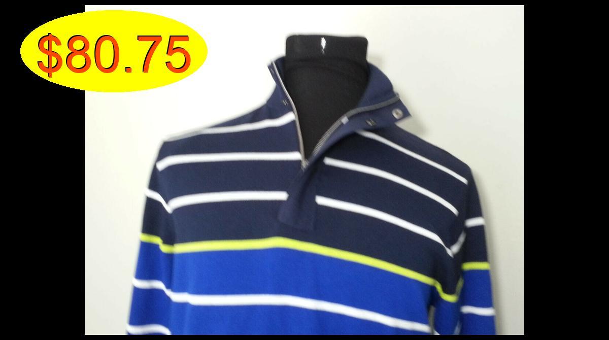RLX Ralph Lauren Men Size L #sweater 1/2 zip neck