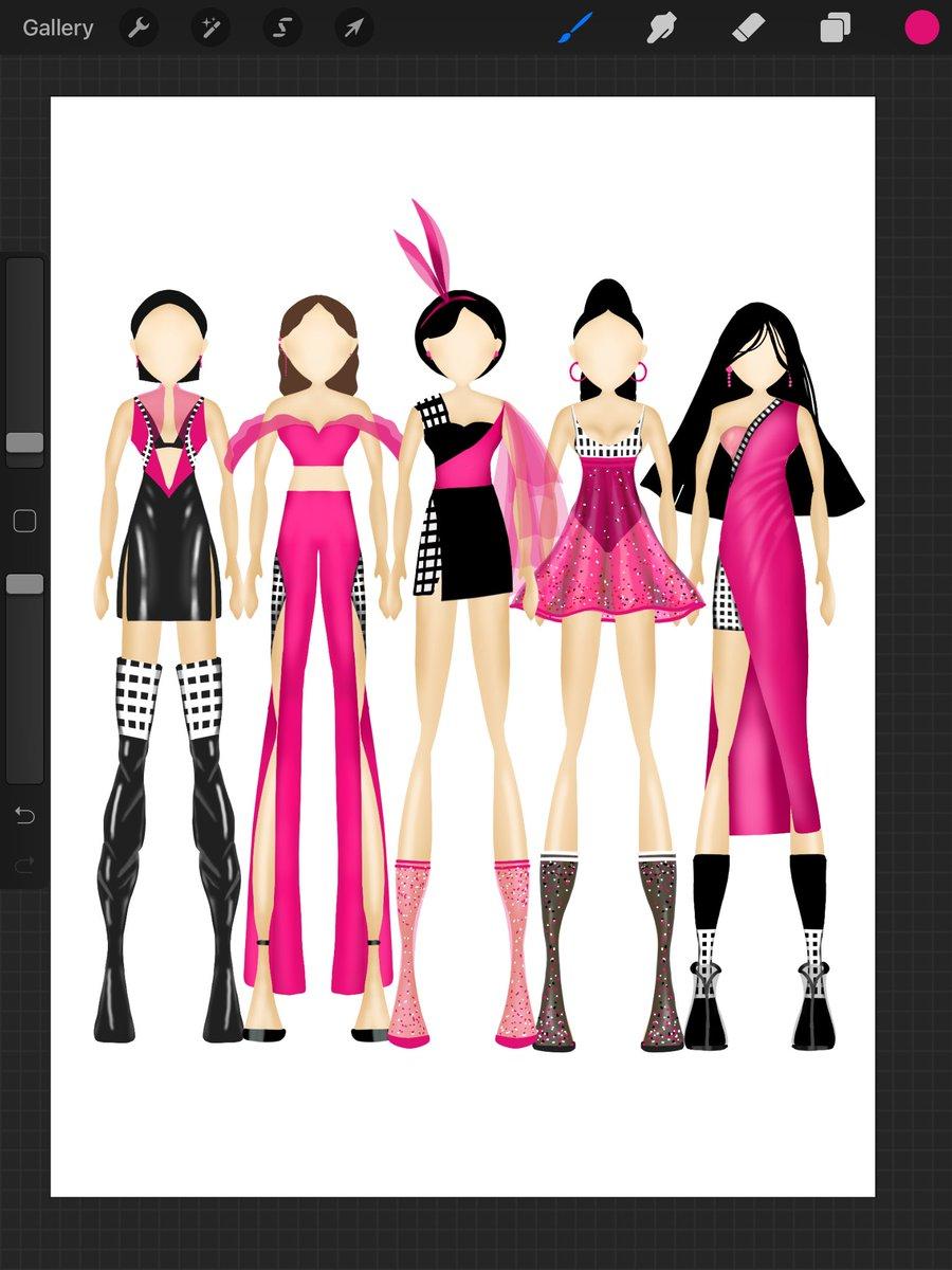 Sunday Sketch #pink #skecth #ipadclass @Procreate #design #ade2021 #cartoon #animation #everyonecancreate