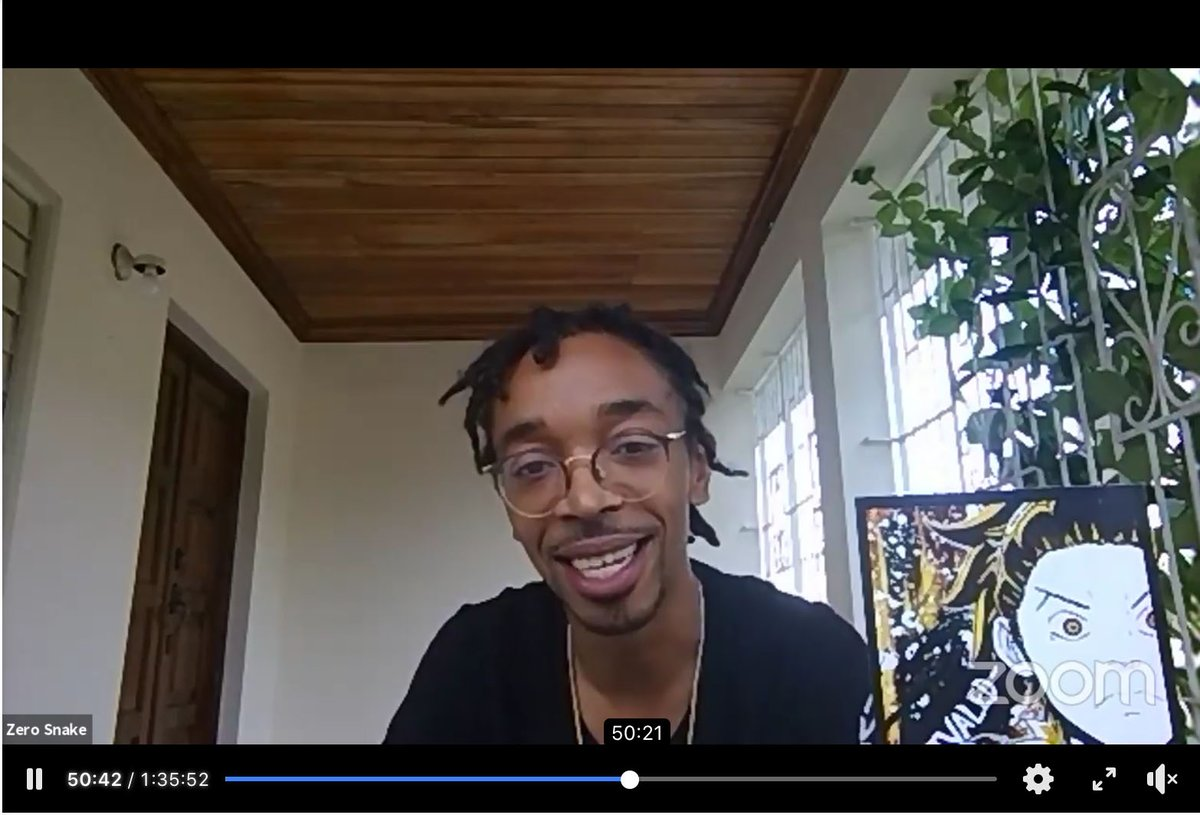 """Check out the latest Comics in Color. We had a great conversation about Representation in #Anime and #Manga and spoke with Tyrone """"@artistzerosnake"""" Motley about his amazing Manga and Anime projects. Watch it now!"""