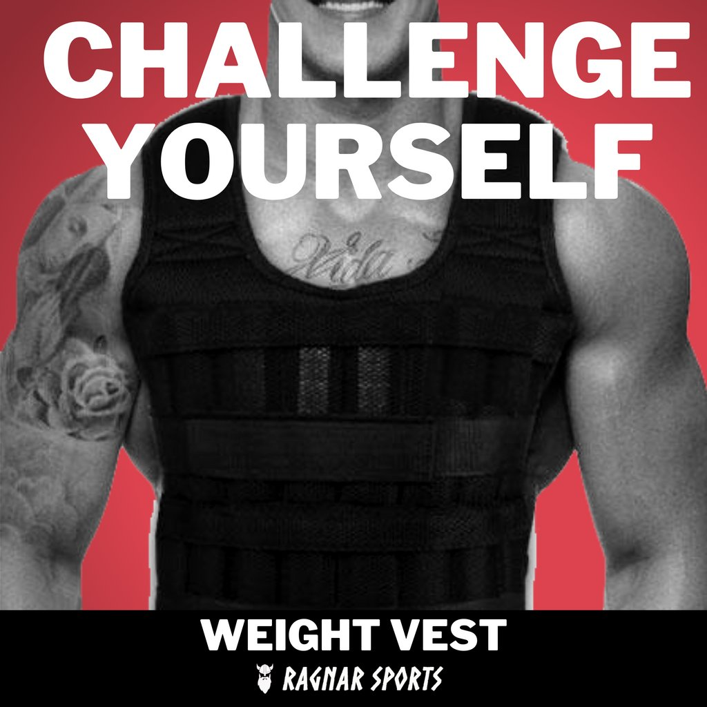 Challenge yourself and build a new you with a weight vest from Ragnar Sports #fitness #gym #workout #fitnessmotivation #motivation #fit #bodybuilding #love #training #health #lifestyle #instagood #fitfam #healthylifestyle #sport #instagram #healthy #like #follow #gymlife #life https://t.co/tV2K8qsttc