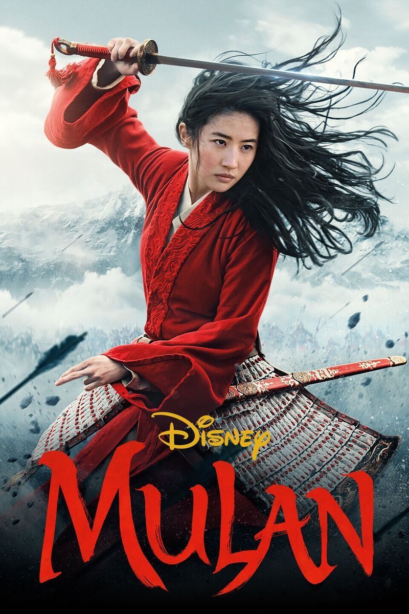 Finally saw the live action Mulan and enjoyed it.  Jen liked it much less so.  I thought the animated movie was better, but this one was worth a watch if you have Disney+.  Mulan gets the invincible Rey in Star Wars treatment, so beware. 😂. #mulan #disneyplus