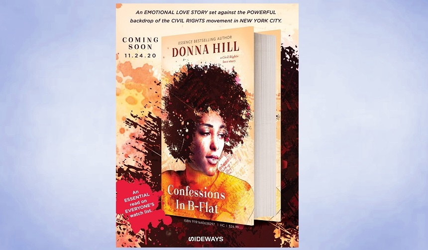 Two activists, divided by ideals, drawn together by a passion that threatens everything they believe in. Confessions in B-Flat A civil rights love story. 👉   #amreading #readers #lovestory #civilrights #readingcommunity #readerscommunity @donnahill