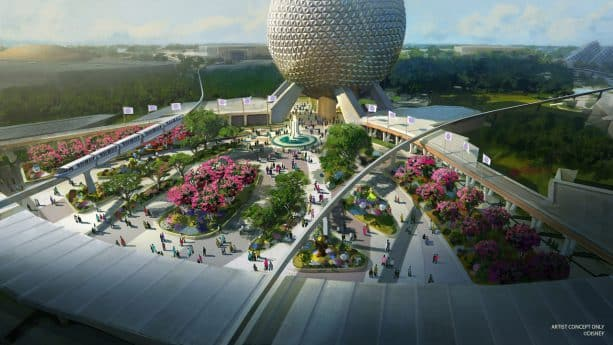 Epcot will be majorly renovated over the next few years. With Disney's 50th anniversary coming up in October, the goal was to have many Epcot changes done by October but COVID had other plans!  #disney #disneyworld #wdw #distwitter #epcot #florida #orlan