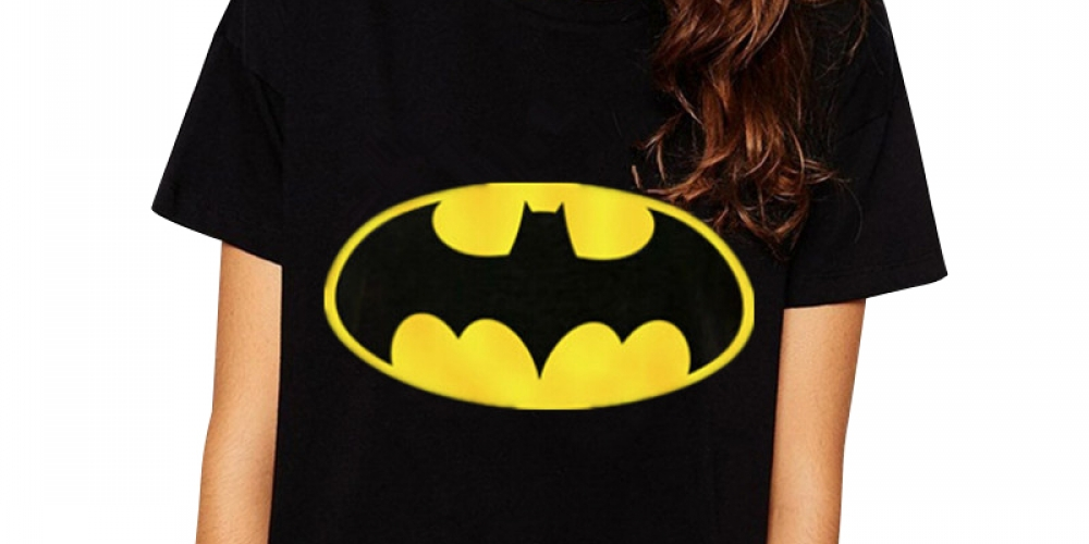 #blackwidow #comic #superhero  2016 New Fashion Women Batman T-shirt