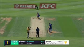 Great grab Tom Blundell! All action early at the @BasinReserve. Follow afternoon action in the Dream11 @SuperSmashNZ between @cricketwgtninc  and @OtagoVolts with @sparknzsport and @TVNZ Duke #SuperSmashNZ