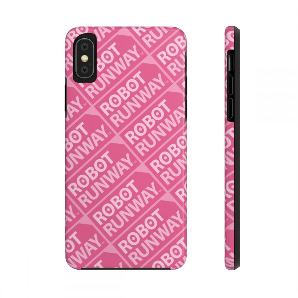 #robotrunway #clothing #accessories #footwear #gifts Robot Runway™ Pink Motif Case Mate Tough Phone Cases