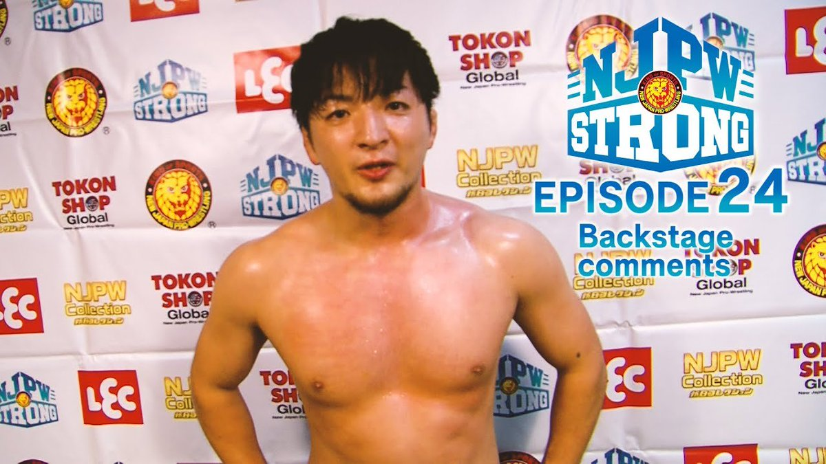 """NJPW Global on Twitter: """"'I'm not satisfied yet' Check out what Ren Narita had to say after his debut victory on #njpwSTRONG last night! https://t.co/d9RAQismUm #njcontender… https://t.co/HDTgeyTRJ9"""""""