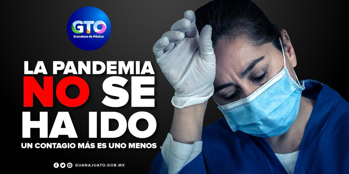 Debemos de tomar seriamente las recomendaciones de sanitización para evitar más contagios de #COVID. La pandemia no se ha ido, está en nuestras manos detener el contagio. Hazlo por ti, por tu familia y tus amigos para que no tengamos más pérdidas humanas. #UsaCubrebocas